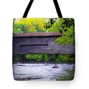 Kennedy Covered Bridge - Kimberton Pa. Tote Bag