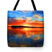 Kensington Sunset Tote Bag