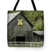 Kentucky Barn Quilt - 3 Tote Bag