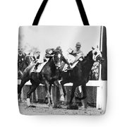 Kentucky Derby Foul Play Tote Bag