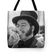 Kentucky Derby Infield Cigar Tote Bag