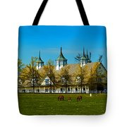 Kentucky Horse Barn Hotel Tote Bag