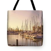 Kentucky Lake Sail Boats Tote Bag