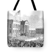 Kentucky Louisville, 1861 Tote Bag