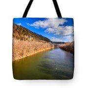 Kentucky River Palisades Tote Bag