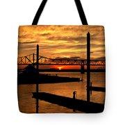 Kentucky Sunset Tote Bag