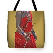 Kenya Warrior Tote Bag
