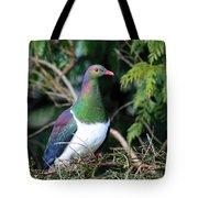 Kerehu - New Zealand Wood Pigeon Tote Bag