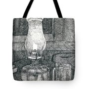 Kerosene Lamp Tote Bag
