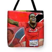 Keshorn Walcott Tote Bag