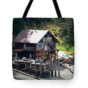 Ketchikan Buildings With Character 2 Tote Bag