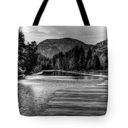Kettle Black And White Tote Bag