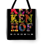 Keukenhof Gardens The Poster Tote Bag