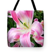 Keukenhof Pink Lily Tote Bag