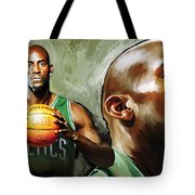 Kevin Garnett Artwork 1 Tote Bag