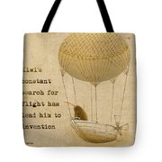 Kevs Invention Tote Bag