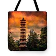 Kew Gardens Pagoda Tote Bag