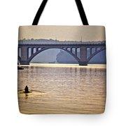 Key Bridge Rower Tote Bag