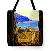 Key Hole View Of Dubrovnik 2 Tote Bag