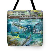 Key Largo Grand Slam Tote Bag by Carey Chen
