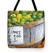 Key Limes Ten For A Dollar Tote Bag