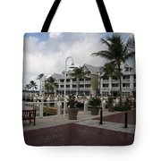 Key West Bayfront  Tote Bag
