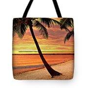 Key West Beach Tote Bag by Marty Koch