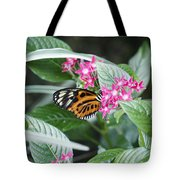 Key West Butterfly Conservatory - Monarch Danaus Plexippus 2 Tote Bag