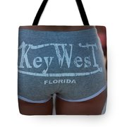 Key West Hot Pants At The Beach Tote Bag
