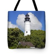 Key West Lighthouse Tote Bag