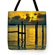 Keys Sunset Tote Bag