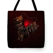 Keys To My Chained Heart Tote Bag