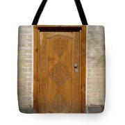 Khiva Door No.12 Tote Bag