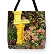 Khmer Shrine Tote Bag