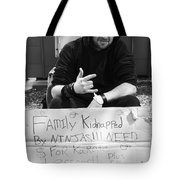 Kidnapped By Ninjas Tote Bag