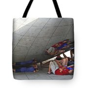 Kids At The Bean Tote Bag