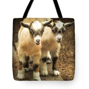 Kids One And Two Tote Bag