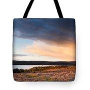 Kielder At Sunset Tote Bag