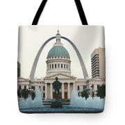 Kiener Plaza - St Louis Missouri Tote Bag