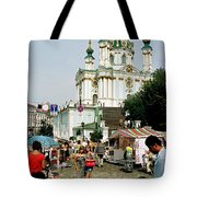 Kiev Andreyevsky Spusk1 Tote Bag