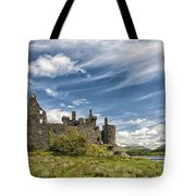 Kilchurn Castle 01 Tote Bag