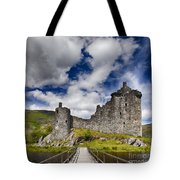 Kilchurn Castle Scotland Tote Bag