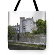 Kilkenny Castle Seen From River Nore Tote Bag