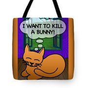 Cat Thoughts Tote Bag