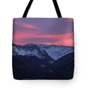 Killian's Sunrise Tote Bag