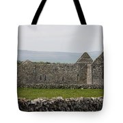 Kilmacduagh Church Ruin Tote Bag