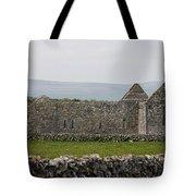 Kilmacduagh Church Ruin Tote Bag