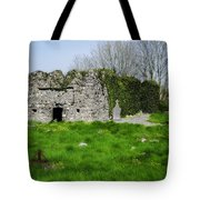 Kilmore Church Ruins - Founded By St Patrick - Ballina Co Mayo Tote Bag