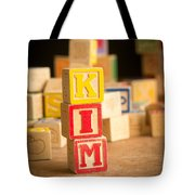 Kim - Alphabet Blocks Tote Bag