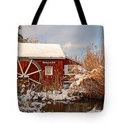 Kimberton Mill After Snow Tote Bag